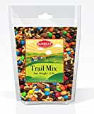SunBest Trail Mix Nuts, Fruits and Candies (Almonds, Raisins, Peanuts, and M&Ms, 2 Lb)