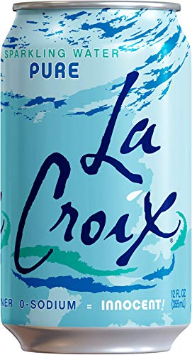 LaCroix Sparkling Water, Lemon, Lime, & Pure Variety Pack, 12oz Cans, 24 Pack, Naturally Essenced, 0 Calories, 0 Sweeteners, 0 Sodium by Shasta Beverages, Inc (Pantry) (Image #4)