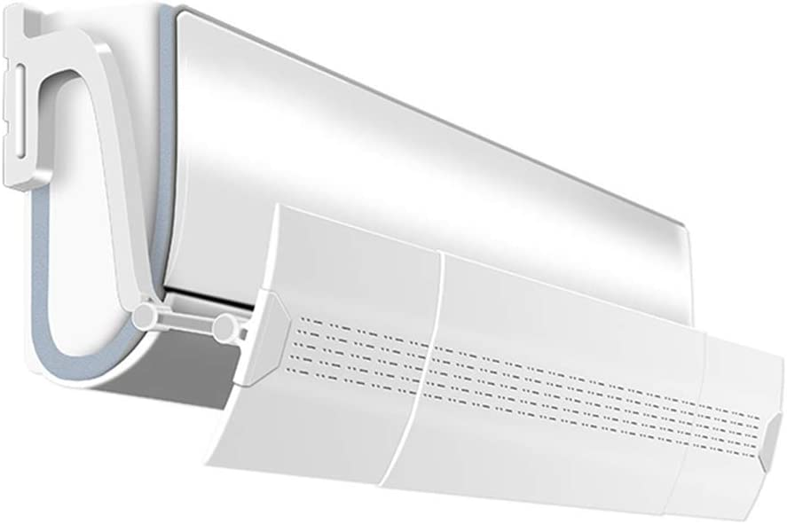 Ajustable Aire Acondicionado Viento Deflector Bafle Telescópico ...