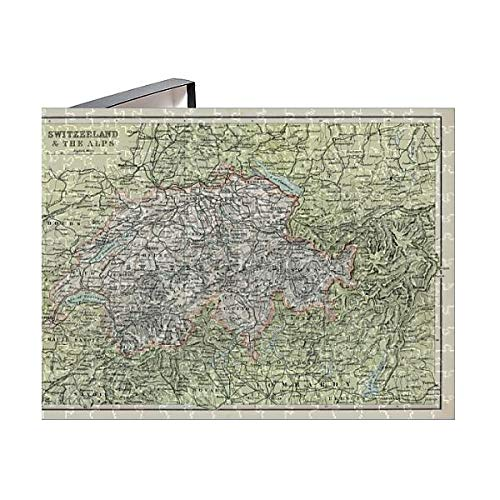 Media Storehouse 252 Piece Puzzle of Antique map of Switzerland and The Alps (15107389) ()