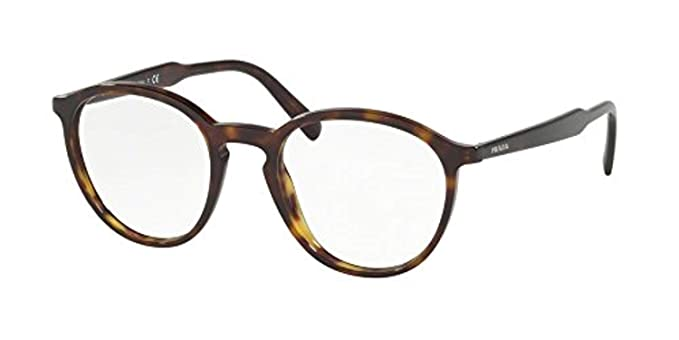 31d657c3e12 Prada Men s PR 13TVF Eyeglasses 51mm at Amazon Men s Clothing store