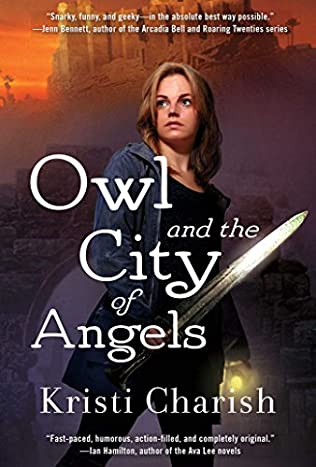 book cover of Owl and the City of Angels