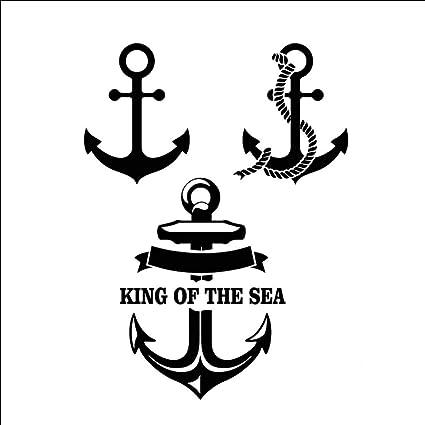 Ruofengpuzi Adesivo Tatuaggiooriginal Sea Sailing by Helmsman ...