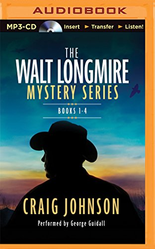 The Walt Longmire Mystery Series Boxed Set Volume 1-4: The Cold Dish, Death Without Company, Kindness Goes Unpunished, Another Man's Moccasins
