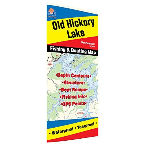 Old hickory lake fishing map fishing kayaks for Old hickory lake fishing