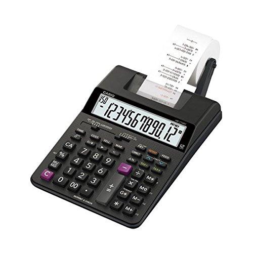 カシオ計算機 プリンター電卓HR-170RC-BK ds-1826093   B075BK7ZBK