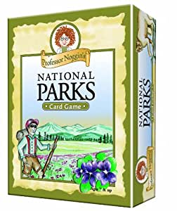 Educational Trivia Card Game - Professor Noggin's National Parks