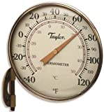Taylor Precision Products Thermometer Dial 4-1/4in Brz