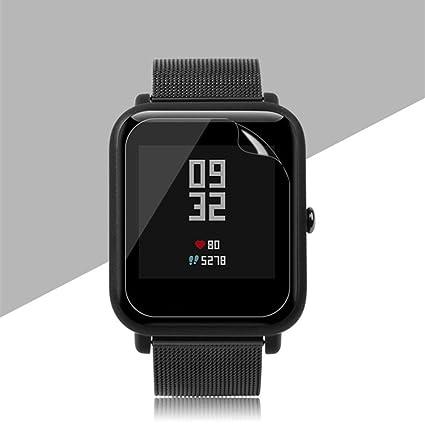 YUYOUG - Protector de pantalla para Xiaomi Smartwatch (2 unidades, resistente a los arañazos