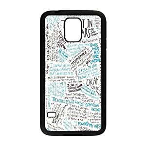 The fault in our stars Okay?Okay. PC Hard Plastic phone Case Cover For Samsung Galaxy S5 JWH9122109