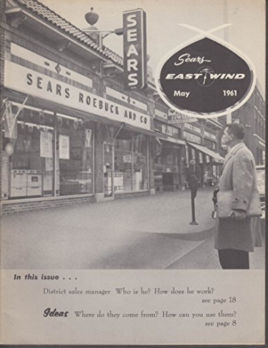 Sears Roebuck EAST WIND 5 1961 employee monthly Bronx Store; - Stores Bronx