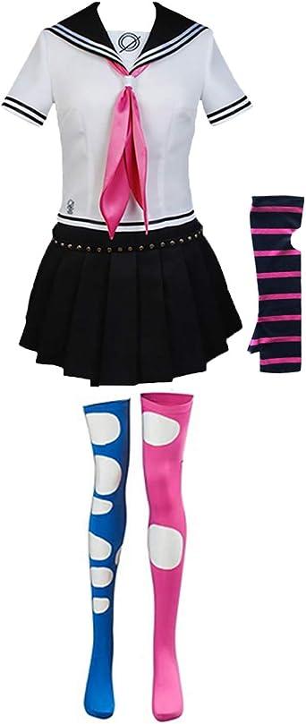 Ainiel Mioda Ibuki Cosplay Female Uniform Set cos Game Anime Costume