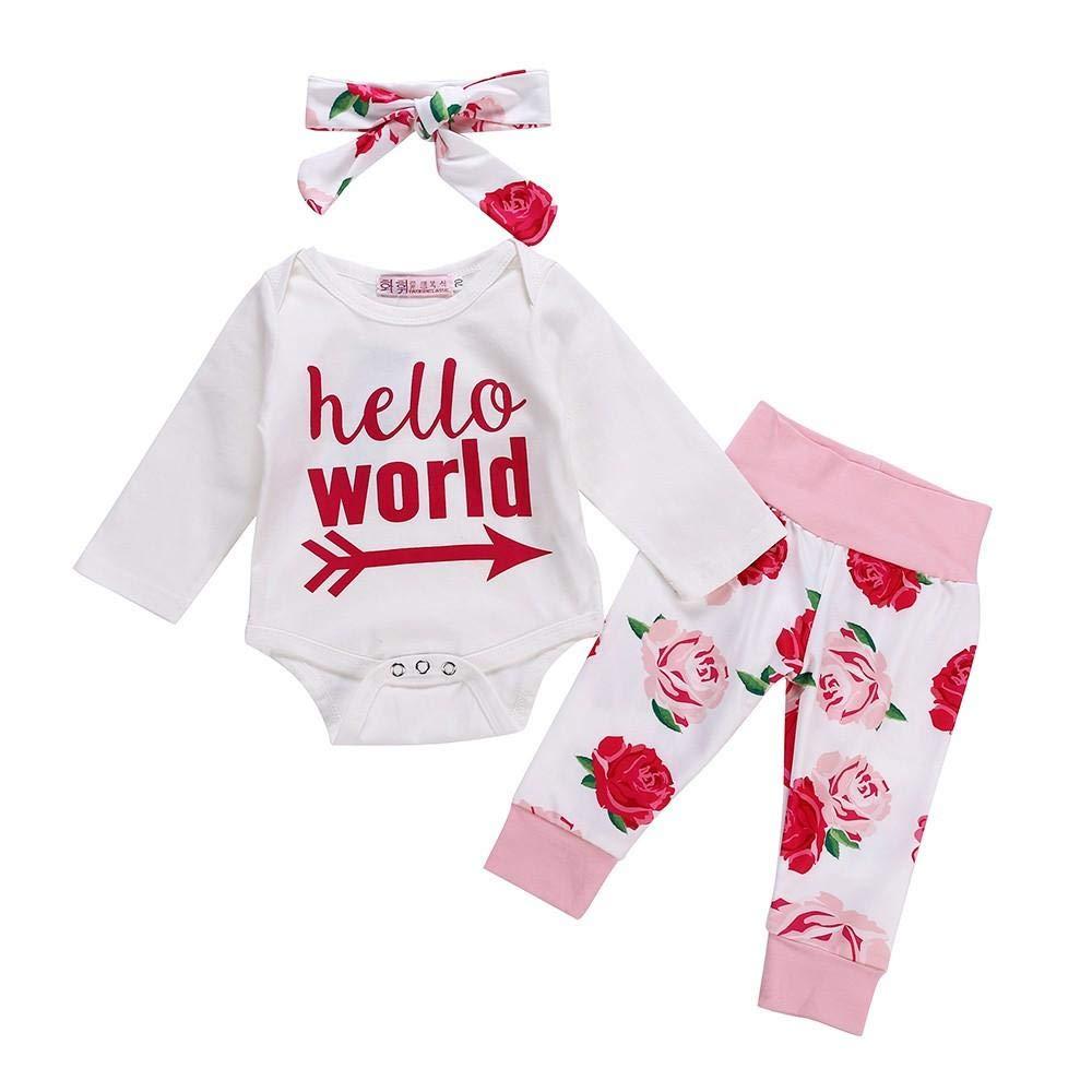 8627a110d4f51 DAY8 Vêtement Bébé Fille Hiver 2018 Ensemble Bébé Fille Naissance Printemps  Pyjama Fille Manche Longue Chic ...