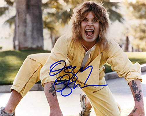 - Ozzy Osbourne metal god reprint signed autographed photo #2 RP