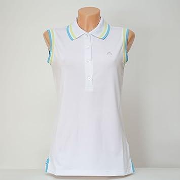 Alberto Finja Dry Comfort Polo mujer Blanco: Amazon.es: Deportes y ...