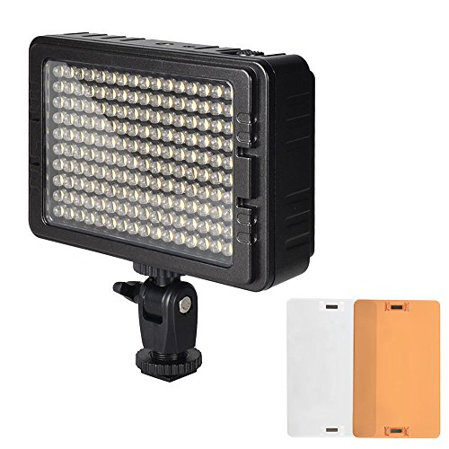 UTEBIT Camera Lighting 160 Balls Filming Lights Stable LED V...