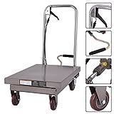 Goplus Hydraulic Scissor Lift Table Cart Dolly