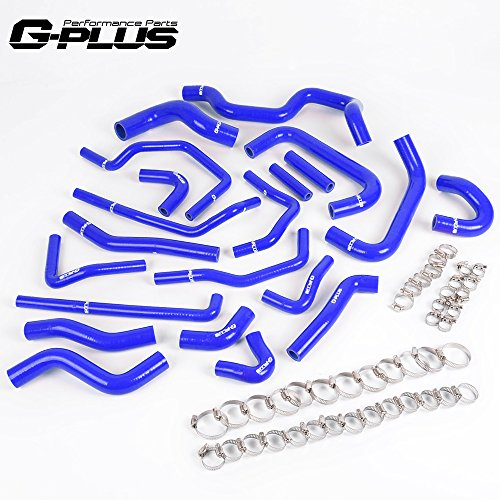 Silicone Ancillary Coolant Hose For TOYOTA MR2 Turbo 2.0L 3SGTE Rev2 LHD 1991 BL (Hose Ancillary)