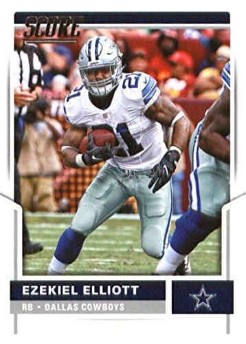 2017 Score #291 Ezekiel Elliott Dallas Cowboys Football Card
