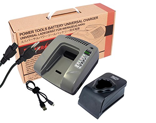 10.8Volts Power Tools Battery Charger For Makita HP330DZ, HS300D, HS300DW, HS300DWE, HU01, HU01Z,JR100DWE, JR101D, JR101DW, JR101DWG, JR101DZ, (Grey)
