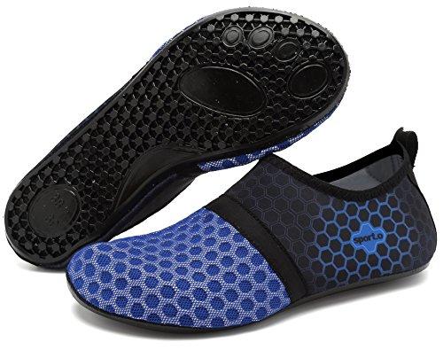 Sportschuhe Pool Damen Barfuß Herren navy Schwimmen Strand Aqua adituob Wasser Socken üben L für R5gxXwWvfq