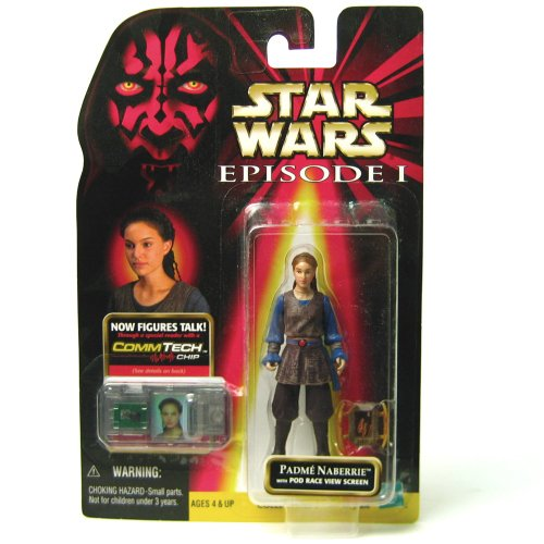 Star Wars, Episode I: The Phantom Menace, Padme Naberrie Action Figure, 3.75 Inches ()