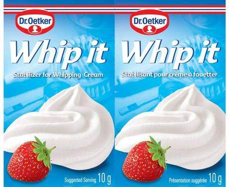 Whip It Stabilizer for Whipping Cream (oetker) 2x10g