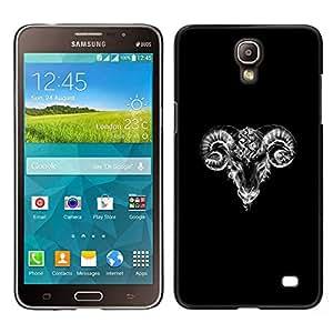 Stuss Case / Funda Carcasa protectora - Blanc minimaliste Croquis - Samsung Galaxy Mega 2