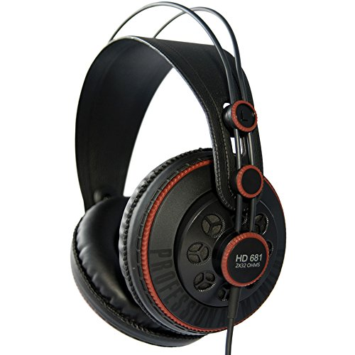 3. Superlux HD 681 Dynamic Semi-Open Headphones