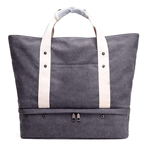 Spiaggia Travel Bag Shopping Yunnxi multifunzionale Leisure Canvas A BwTngX