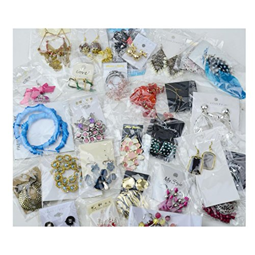 Lot Jewelry - Magik 40~80 Pairs High End Quality Earrings Must-have Wholesale Jewelry Lot Various Styles and Colors (40 Pairs)
