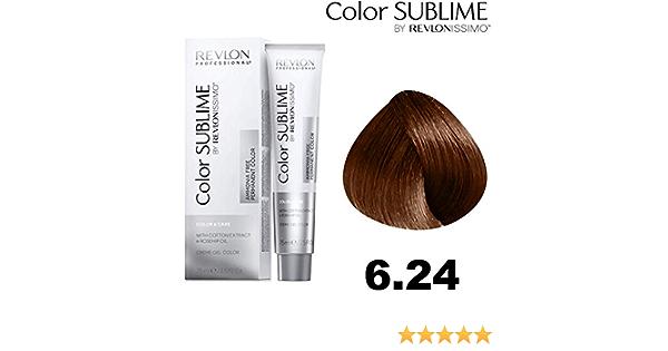 Revlonissimo Color sublime 75 ml, Color 6.24: Amazon.es: Belleza