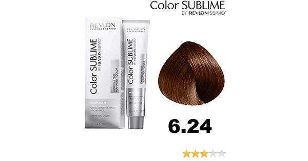 Revlonissimo Color sublime 75 ml, Color 6.24: Amazon.es ...