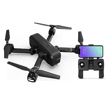 Haojiechunxiang Drone Plegable Antena Profesional HD Exterior 4K ...