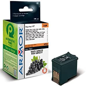Para HP PSC 2210V-Black tinta, Armor compatible Cartuchos de Tinta para psc2210V, 19ml