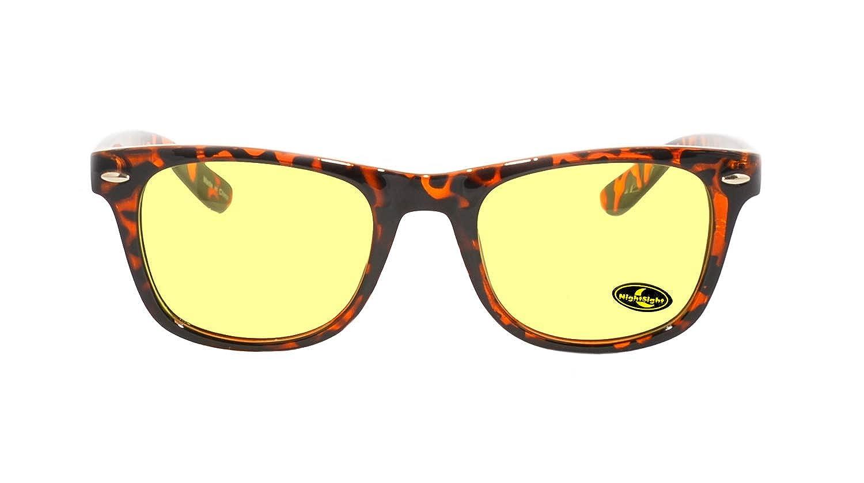 rainbow safety Auto Brille Nachtsichtbrille Nachtfahrbrille Kontrastbrille Polarisierte Gl/äser