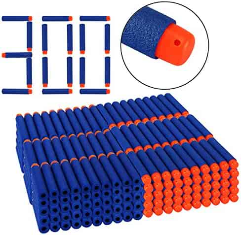 970259810ee Dreampark Refill Bullet Darts 300 PCS for N-Strike Elite Blasters Nerf Guns  Standard Size