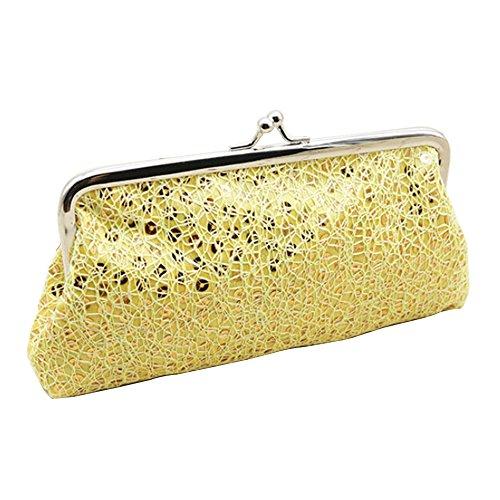 Glitter Pink Bling Evening Party Handbag Sparkling Dazzling Bag Clutch Golden Sequins gxqdwxfZA
