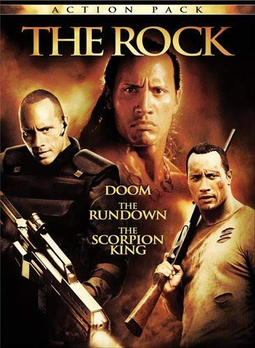 The Rock Action Pack (Doom / The Rundown / The Scorpion King)