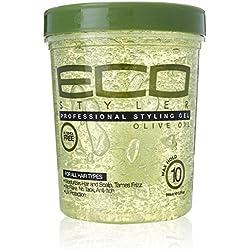 ECOCO Eco Style Gel, Olive, 32 oz