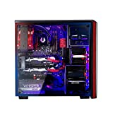 BitFenix Nova TG Black, Gaming Case, ATX/mATX/Mini ITX Mid Tower Case - Tempered Glass Window, BFX-NTG-100-KKWSK-RP
