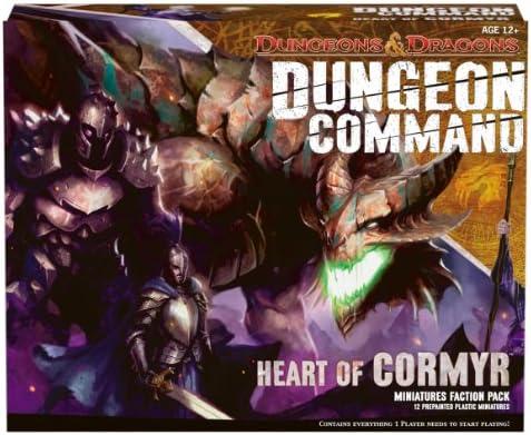 Avalon Hill / Wizards of the Coast 39805 - Dungeon Command: Heart of Cormyr, Juego de Mesa (Dragones y Mazmorras): Amazon.es: Juguetes y juegos