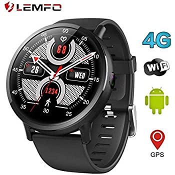 885b9f988 LEMFO LEMX Smart Watch Phone 4G LTE - Android 7.1 2.03