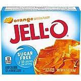 JELL-O Orange Gelatin Dessert Mix (0.30 oz Boxes, Pack of 6)