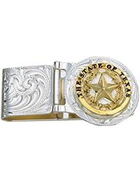 Men's Texas Star Hinged Money Clip - Mcl23-848