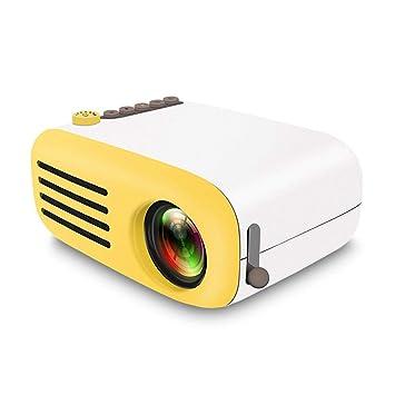 LAYOPO Proyector Portátil Micro LED para El Hogar, Mini Proyector ...