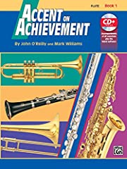 Accent on Achievement is a revolutionary, best-selling band method that will excite and stimulate your students through full-color pages and the most complete collection of classics and world music in any band method. The comprehensive review...