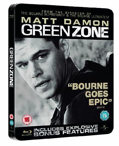 Green Zone Limited Edition Steelbook Blu Ray (Universal Studios Steelbook)