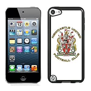 NEW DIY Customized Skin Case With Soccer Club New Castle United 16 Football Logo iPod Touch 5 5th Generation Cell Phone Case