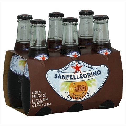 San Pellegrino Soda 6pk Chinotto
